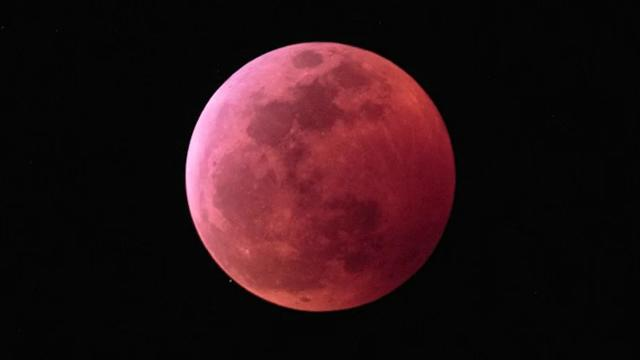 See the Super Wolf Blood Moon in This Amazing Eclipse Time-Lapse