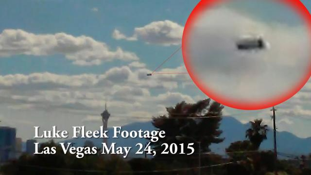 UFO Sightings [HUGE] Flying Saucer Over Las Vegas!! May 28, 2015