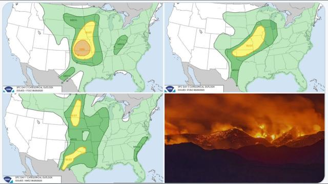 3 Days of Severe Weather & the 7th largest fire in Arizona history.