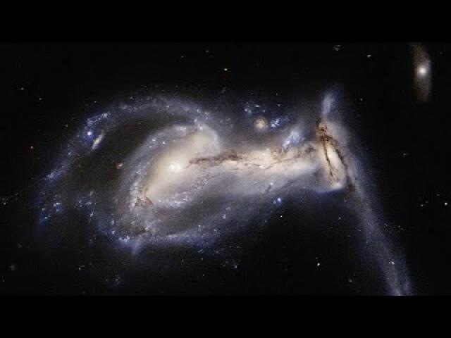 Squabbling Galactic Siblings