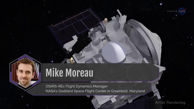 OSIRIS-REx Using Earth as Slingshot to Get to Asteroid Bennu
