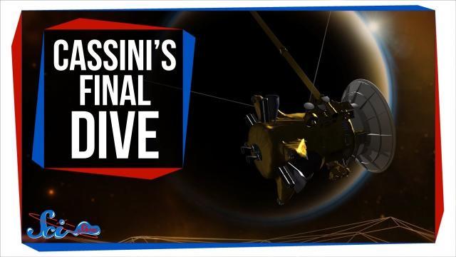 Cassini's Last Hurrah & Hints About Saturn's Rings