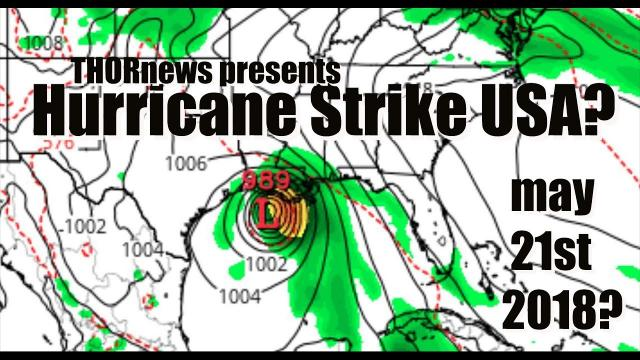 Hurricane to HIT Texas and/or Gulf Coast May 21st? Be prepared. NOW.