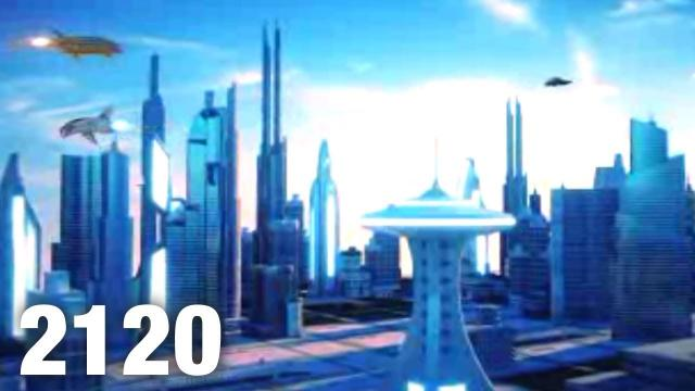 Time Traveler Shows Future Video of Las Vegas In 2120