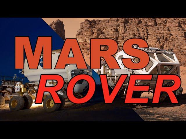 Why would astronauts need a rover on Mars?