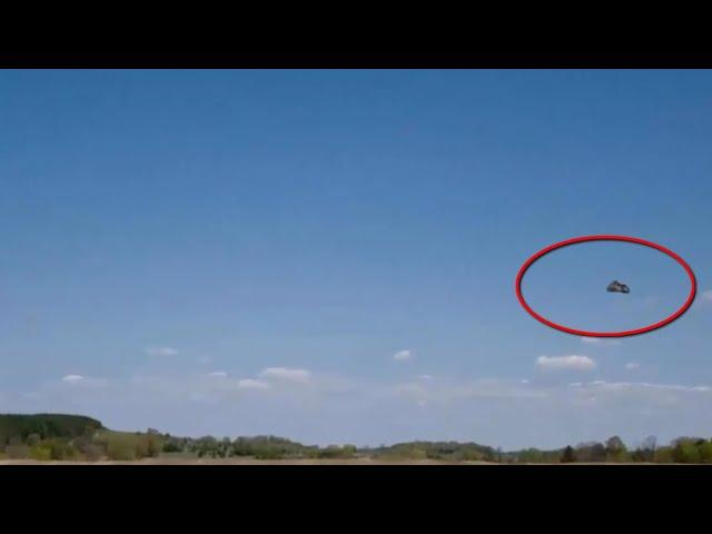New Massive UFO Filmed In Mexico