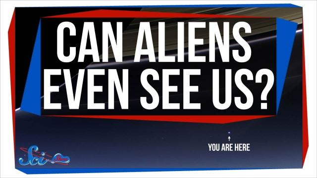 Would Aliens Be Able to See Earth?
