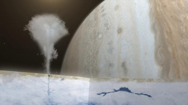 Water Vapor Above Europa's Surface Deteced for First Time