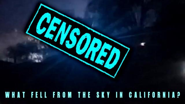 People Scream At The Sight Of Falling UFO!!! MUST SEE!!!