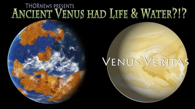 Ancient Planet Venus had Water, Oceans & Life?