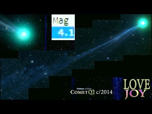 Tell NASA Comet Q2 LoveJoy is the Comet of the Century. Gettin' bright fast!
