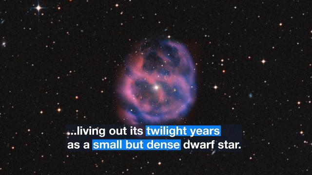 Red Giant Star's 'Final Breath' Captured by Very Large Telescope