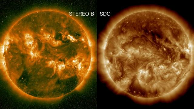 Far Side Solar Storms Produce Gamma Rays, Detected by Space Telescope | Video