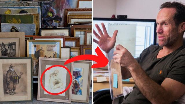 When Old Note Fell Out Of A $4 Picture Frame, He Didn't Expect It To Change His Life Forever