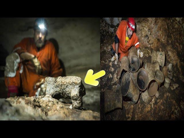 Archaeologists make a new discovery in the caves of Chichen Itza