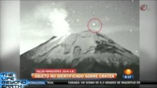 UFO SIGHTING AT POPOCATEPETL VOLCANO MEXICO