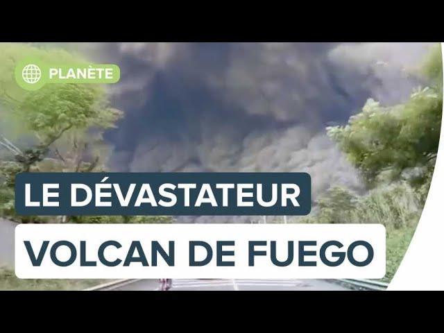 Volcan de Fuego : une éruption dévastatrice au Guatemala | Futura