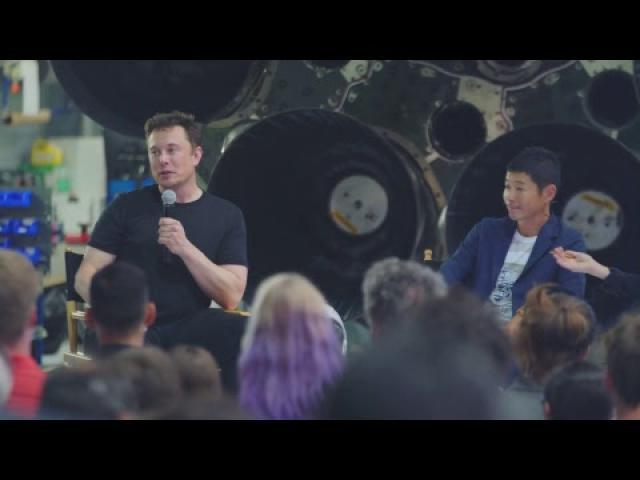 First Private Passenger on Lunar BFR Mission