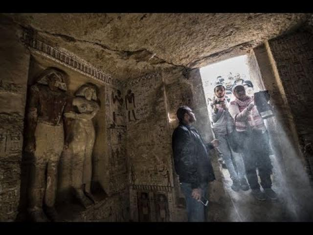 Ancient Egyptian tomb untouched for 4,400 years OPENED — amid warnings of 'DEADLY CURSE'