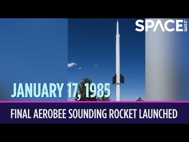 OTD in Space – January 17: Final Aerobee Sounding Rocket Launched