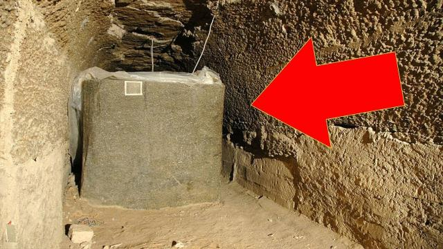ancient egypt : A Man Discovered Strange Boxes Buried , And Their Origins Are Mystifying Scientists