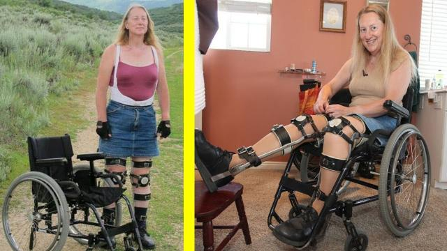 Woman Spends Her Whole Life In A Wheelchair Even Though There's Nothing Physically Wrong With Her