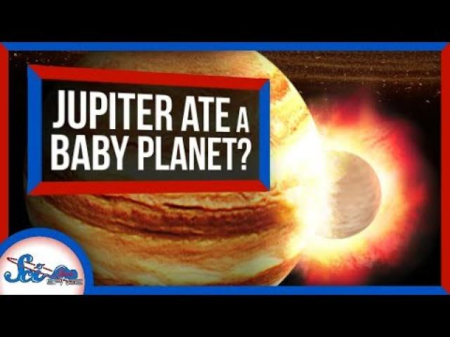 A Baby Planet May Have Once Smashed Into Jupiter | SciShow News
