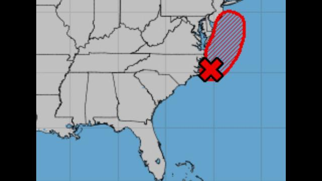 90% Chance of Tropical Storm Fay!