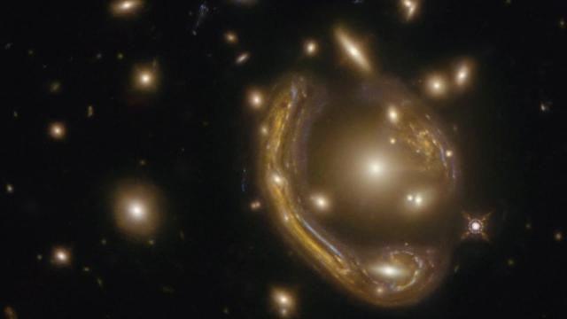 Largest Einstein ring discovered yet in new Hubble imagery