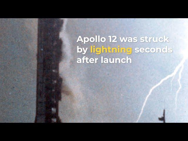 Flashback: Apollo 12's Rocket Struck By Lightning Twice During Launch