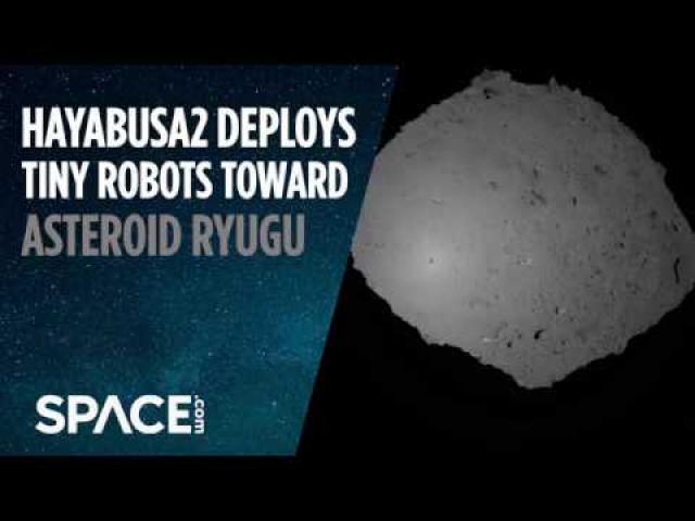Japanese Probe Deploys Robots to Land on Asteroid Ryugu