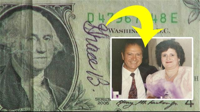 How A One Dollar Bill Left An 86-Year-Old Widower In Tears