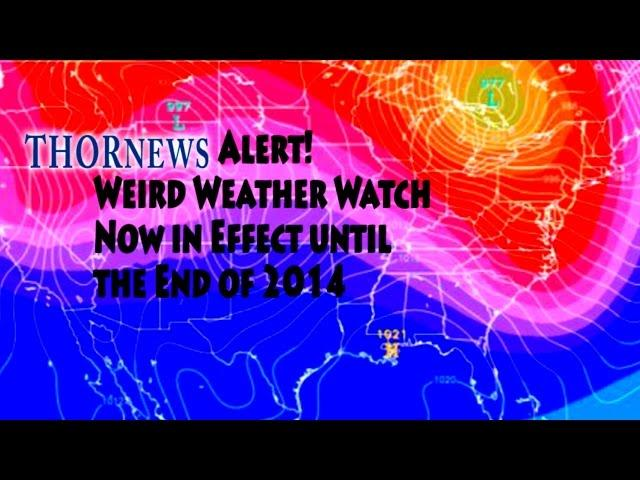 SantaBomb Alert! Weird Weather Watch is ON! for 1/2 of America  Now through 2014