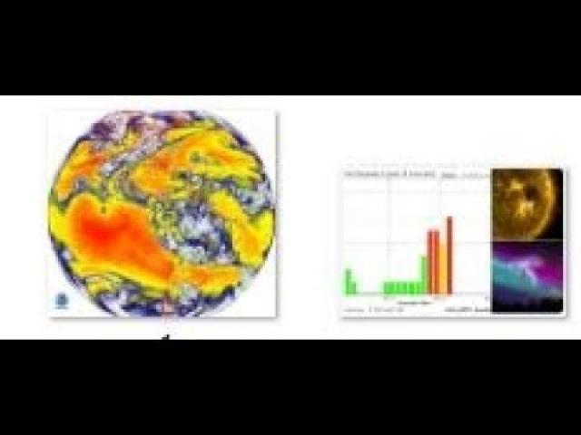 Geomagnetic Storm now & BIG Monday & Tuesday & Wednesday Storms