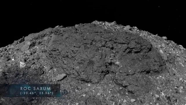 Asteroid Bennu - Up close and personal in new NASA tour