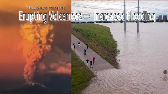 Record # of Erupting Volcanoes = Record # of Floods
