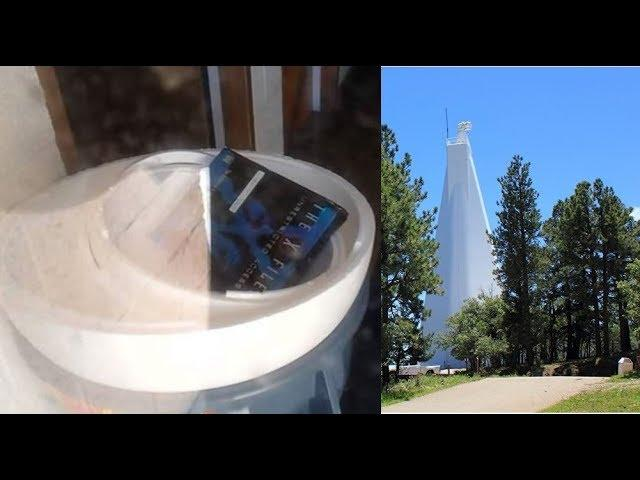 Man infiltrates Solar Observatory and finds X-files Unrestricted Access DVD in a building!