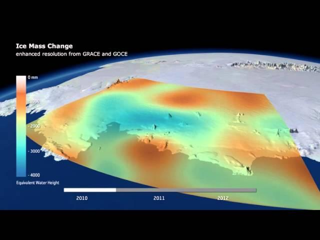 Antarctic Ice Loss Causes Dip In Earth's Gravity | Video