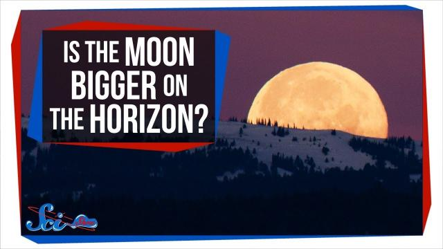 Why Does the Moon Look Bigger on the Horizon?