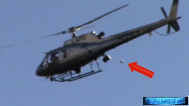 LAPD Helicopter Releases UFO Caught On Video! 2018