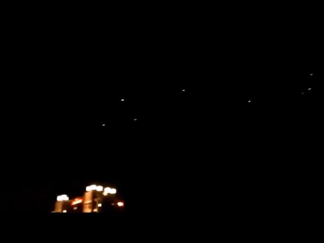 A fleet of orbs over Rome, New York