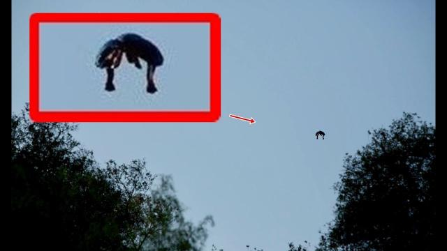 A mystery object sighted moving slowly over Griffith Park, L A  in broad daylight