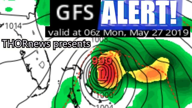 ARE YOU READY AN END OF MAY HURRICANE? Florida, Gulf Coast & East Coast.