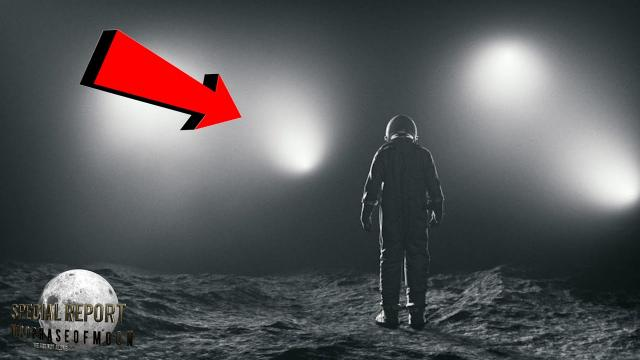 WHOA! HUGE Vector Shaped UFO Craft Formation Over The Moon! 2021