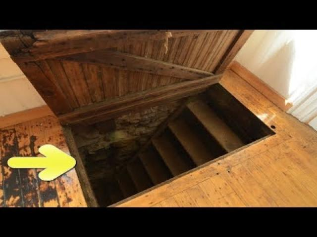 This Guy Just Moved In When He Discovered A Secret Trapdoor