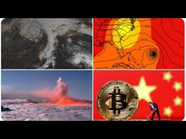 Solar Storm! China cracks down on Cryptocurrency! Hurricane Watch! Major Energy inflation n Europe!