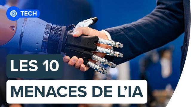 Les 10 menaces les plus dangereuses de l'intelligence artificielle | Futura
