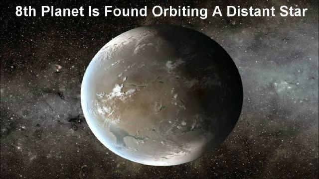8th Planet Is Found Orbiting A Distant Star, With A.I.'s Help