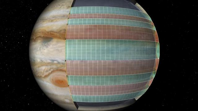Jupiter's Colorful Cloud Bands Studied by Spacecraft