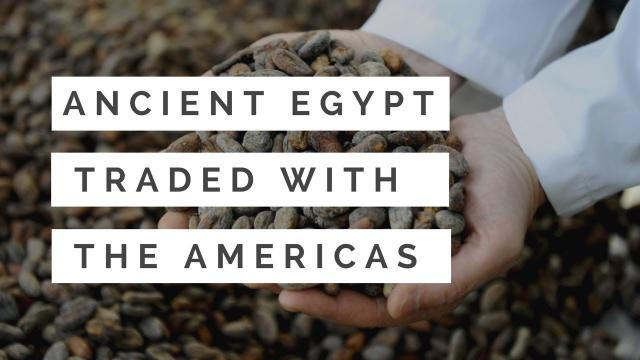 Ancient Egypt Traded With South America? History is a Lie!